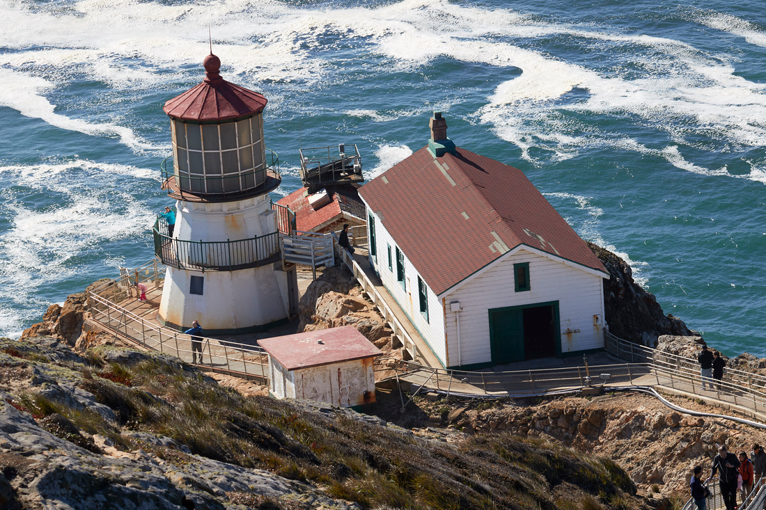 Point Reyes Lighthouse Station 180