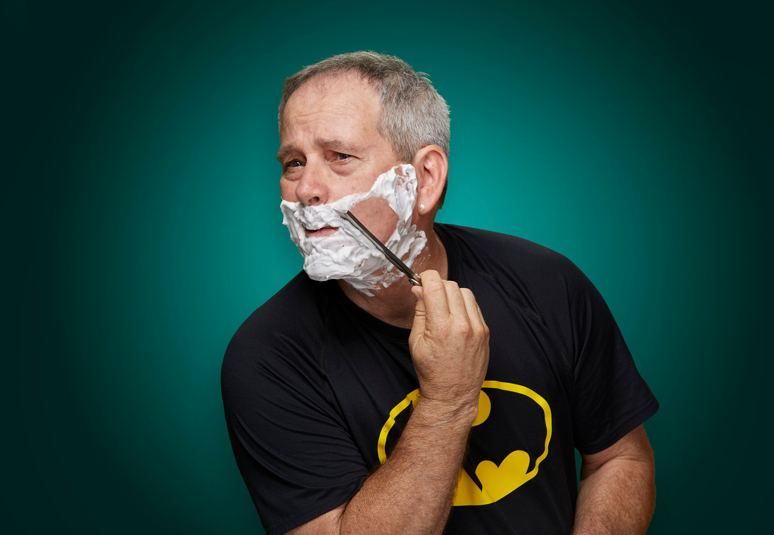 Tip#7- Get a clean shave the morning of your portrait