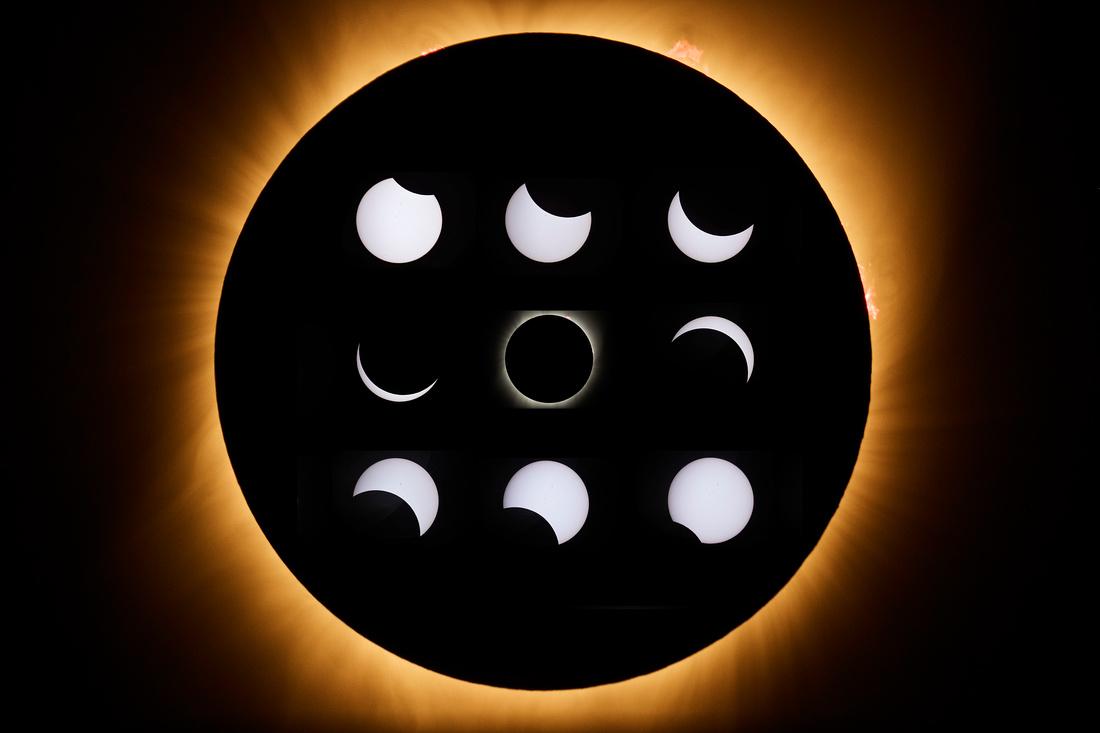 Solar Eclipse 9 grid